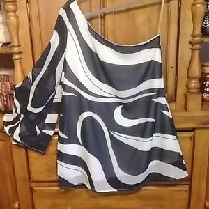 Venus one shoulder sexy blouse size 10